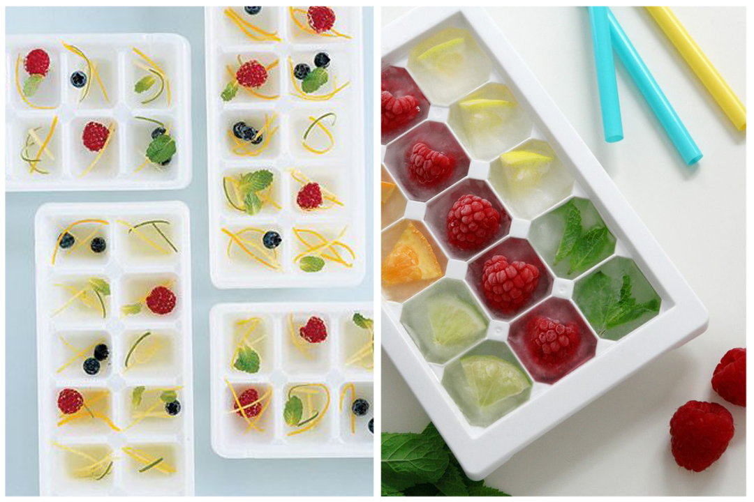 green design - cool ice cubes