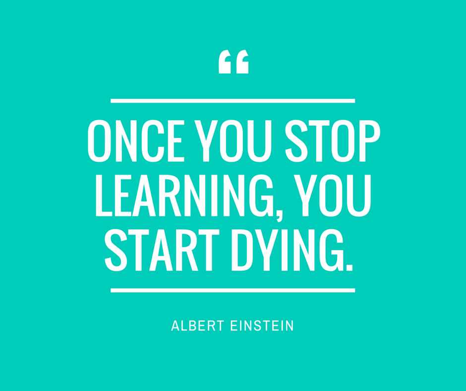 Once-you-stop-learning-you-start