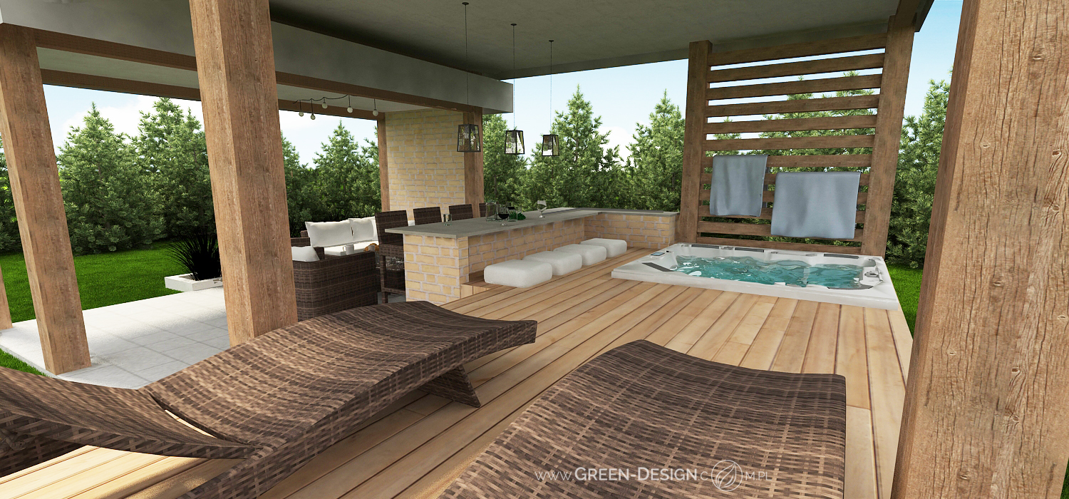 Green Design Blog- Altana z jacuzzi 1