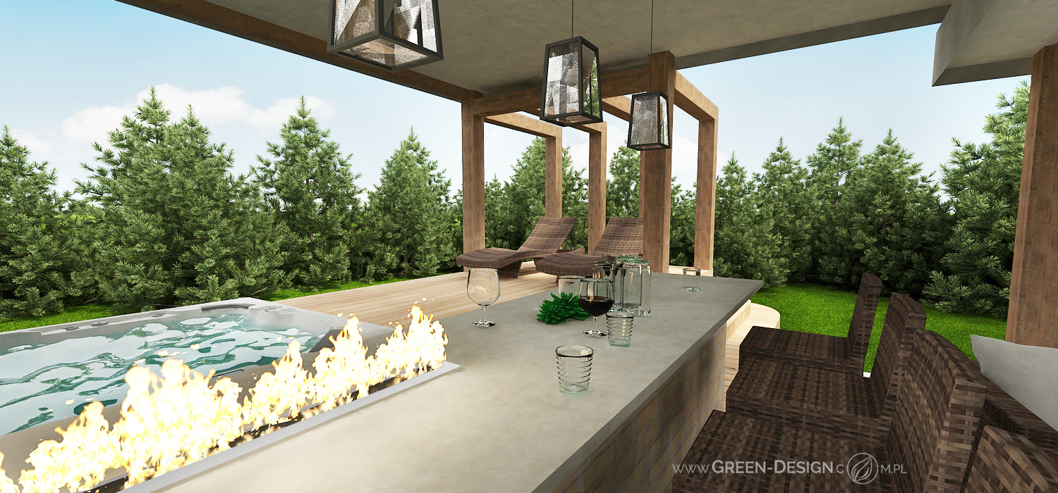 Green Design Blog- Altana z jacuzzi 9