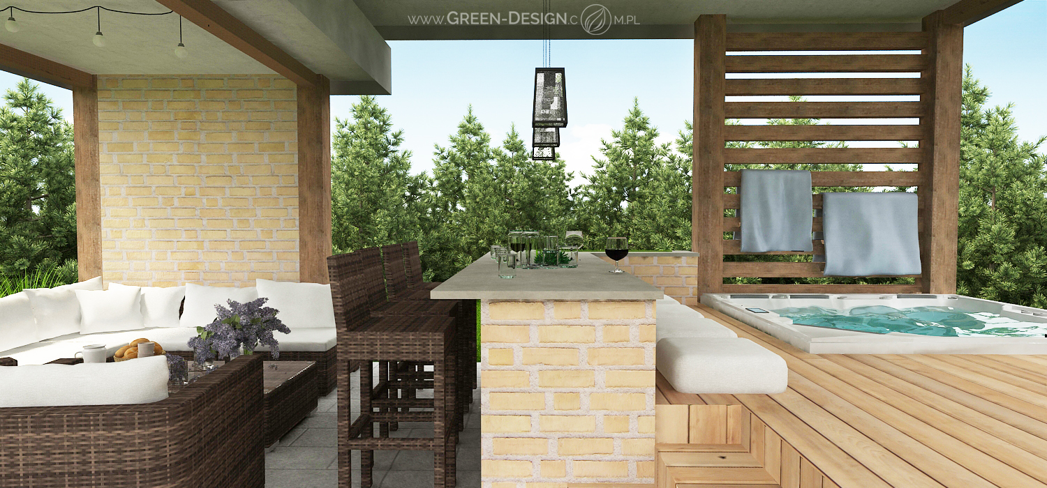 Green Design Blog- Altana z jacuzzi 3