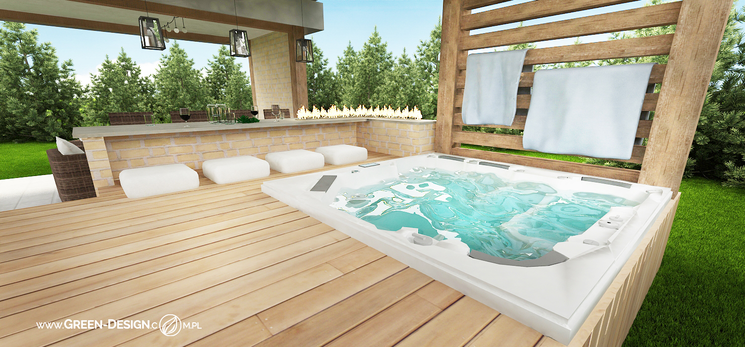 Green Design Blog- Altana z jacuzzi 6