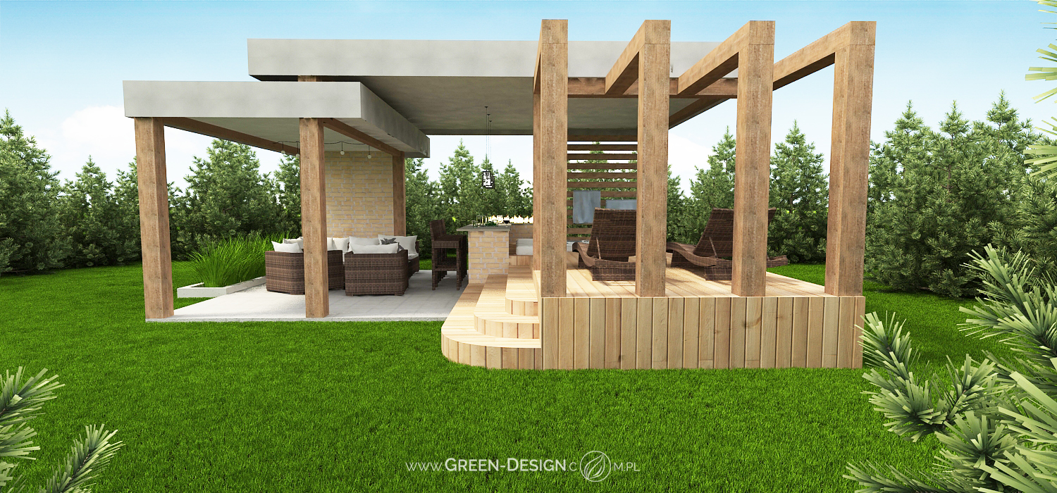 Green Design Blog- Altana z jacuzzi 7
