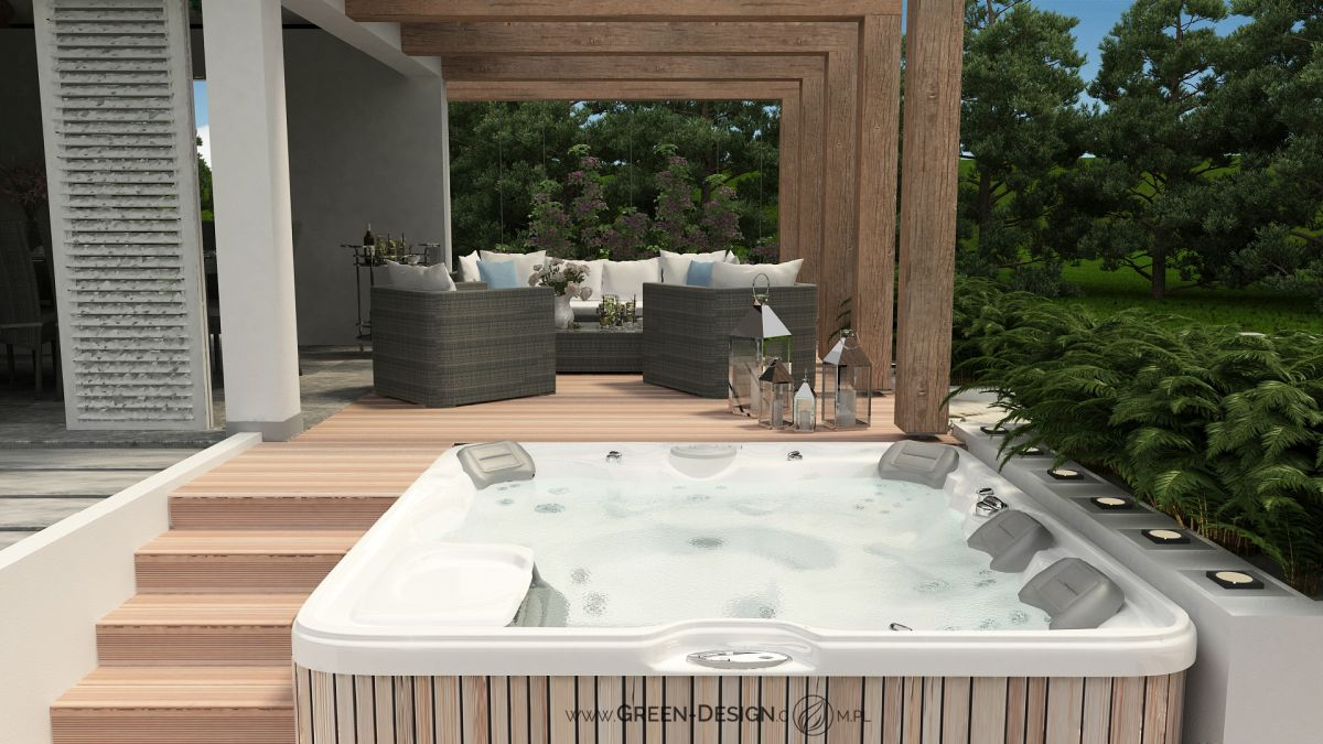 Green Design Blog Altana z jacuzzi