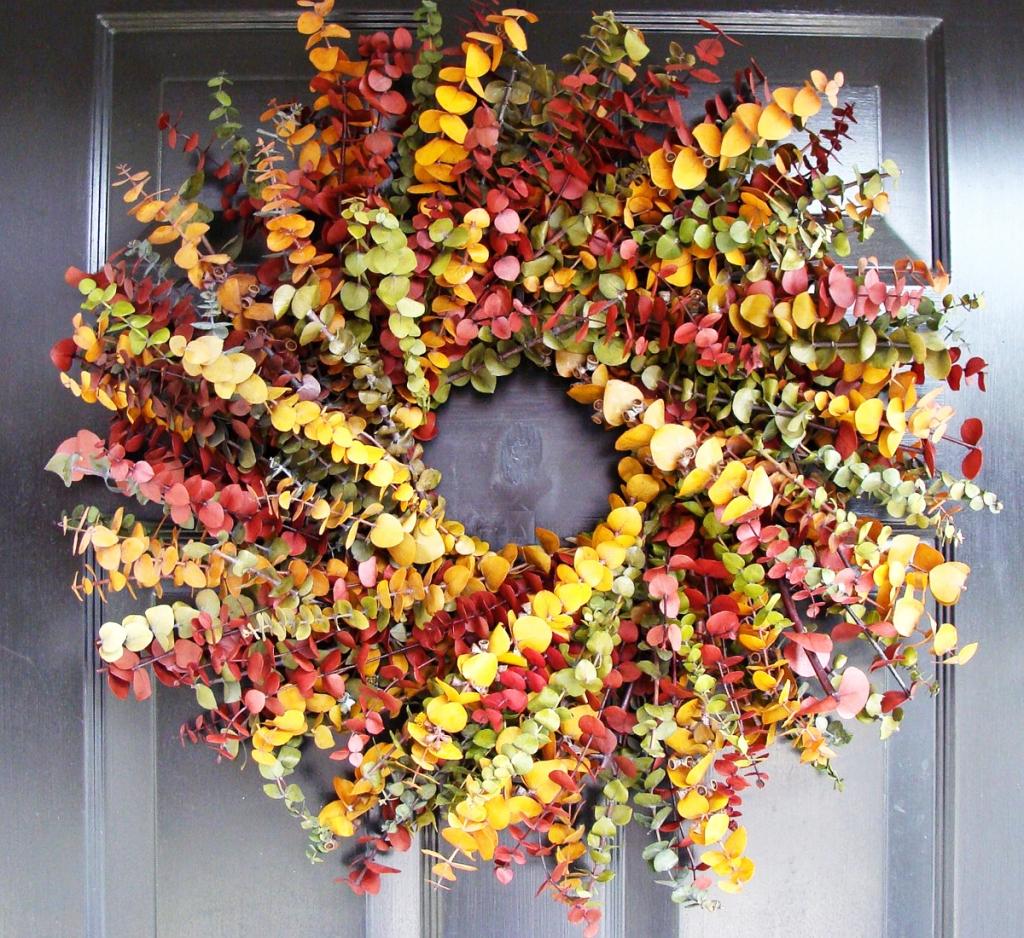 Autumn in garden. A lot of outdoor decorations! Green Design Blog Jesienne Dekoracje