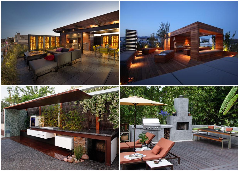 Kuchnia ogrodowa  inspiracje od Green Design Blo