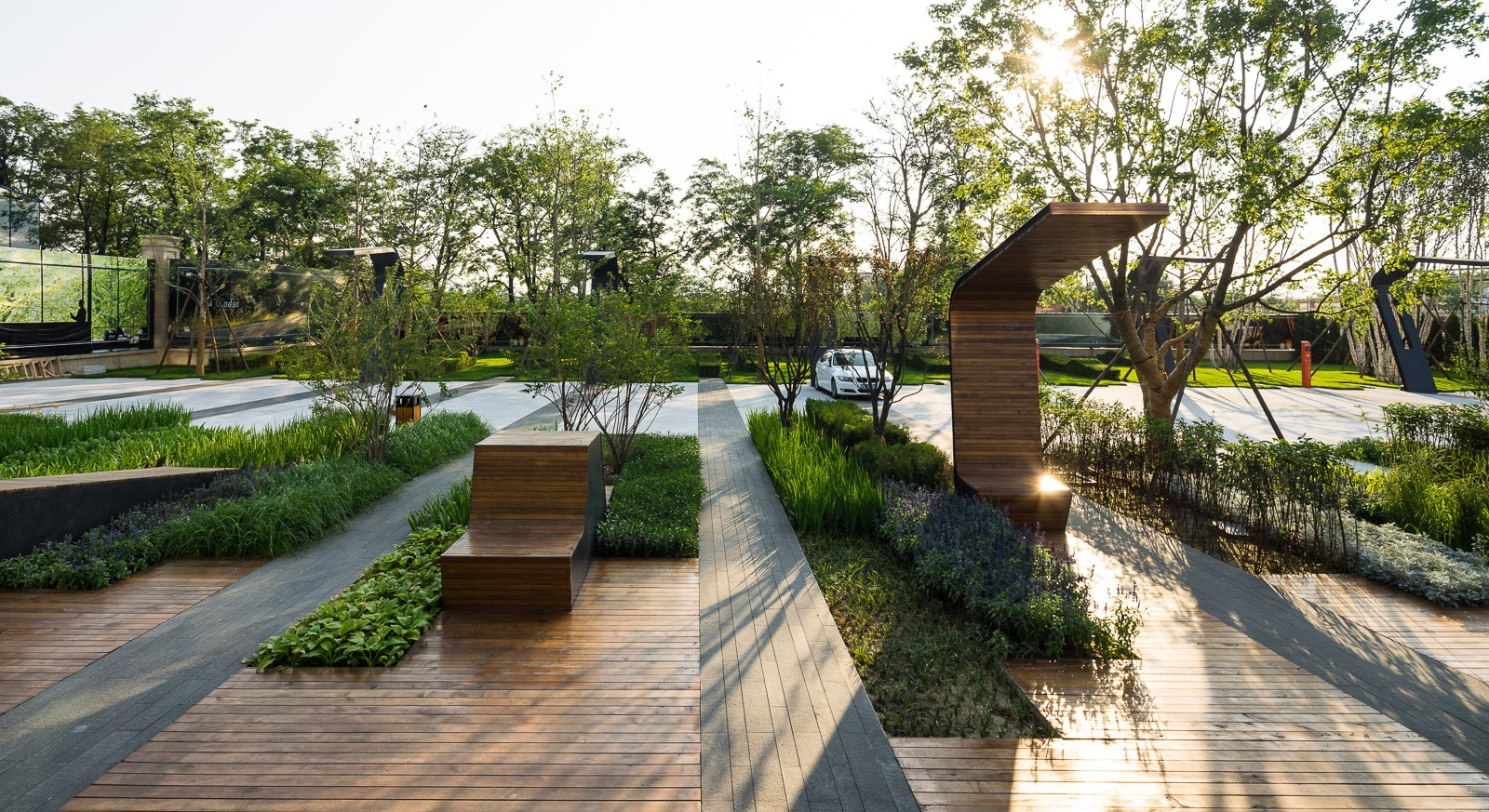 Landscape architects english country decor and sunken for Landscape architecture