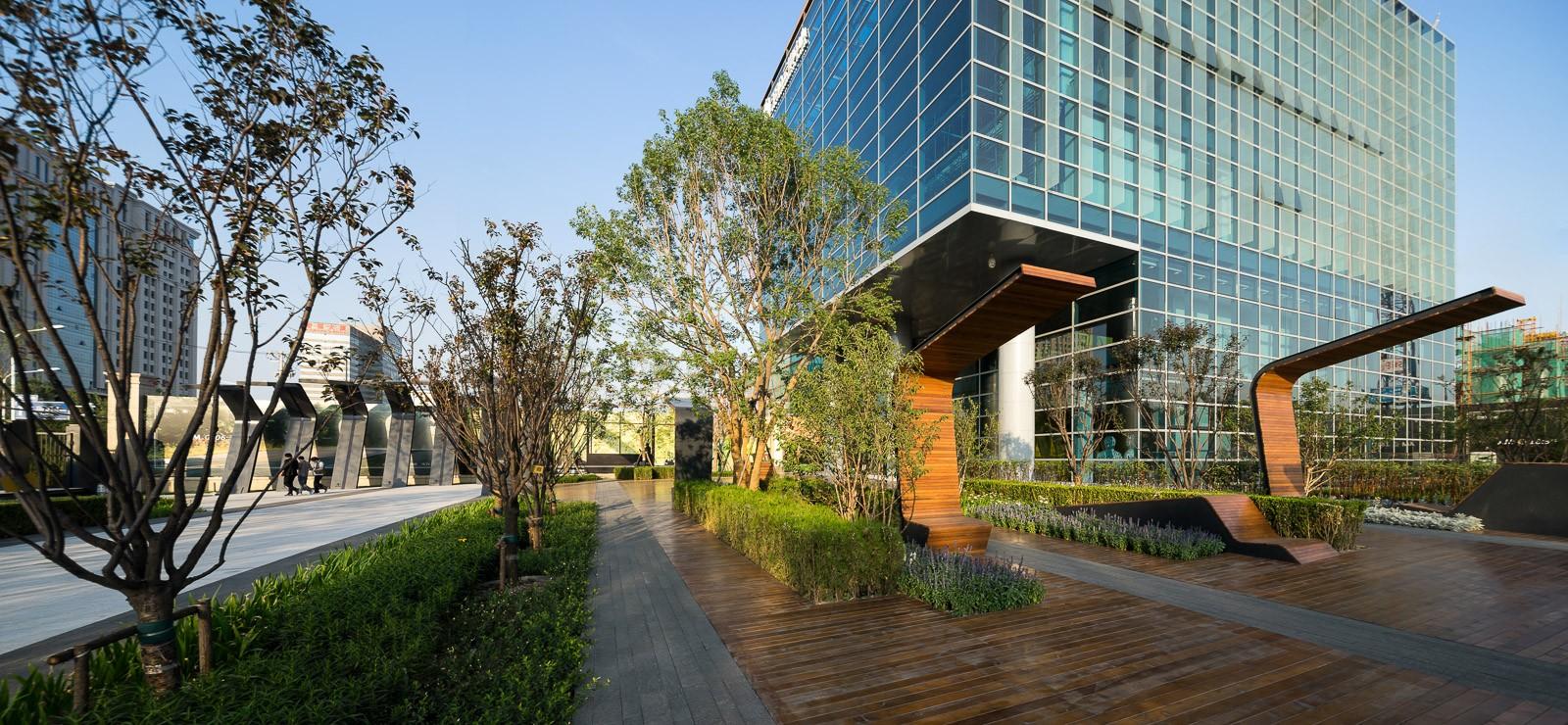 Technology Business District Green Design Landscape Architecture Blog