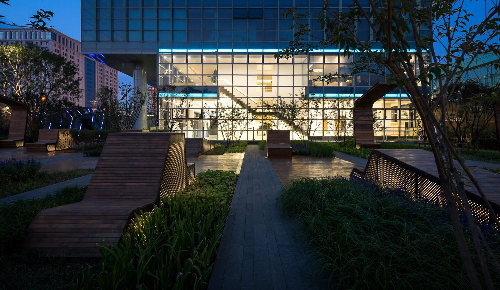 Technology Business District Green Design Landscape Architecture
