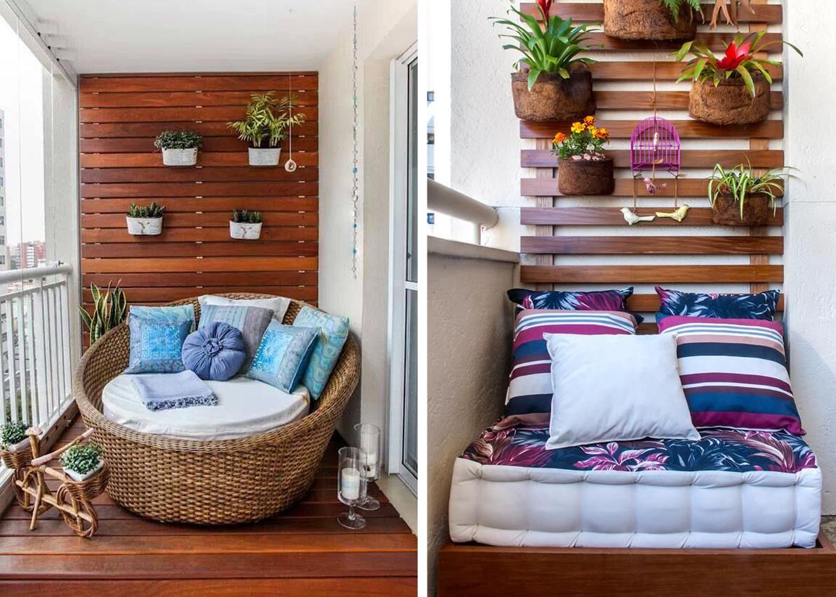Balkony i tarasy ciekawe pomys y na zagospodarowanie for Muebles para balcon exterior pequeno