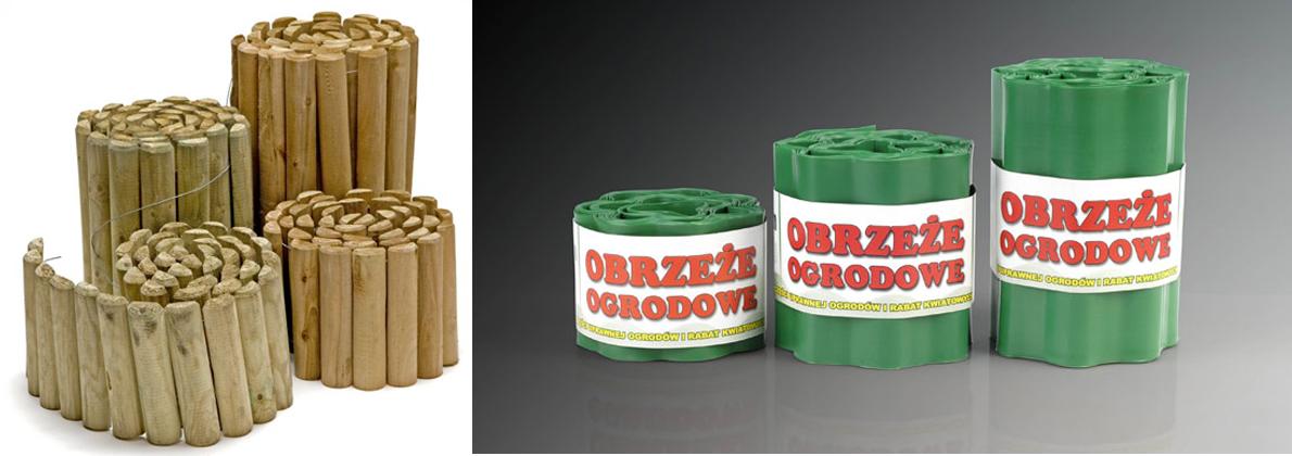 drewniane i plastikowe rollbordery