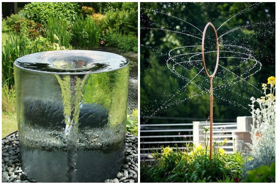 Woda w ogrodzie ma e elementy wodne for Fuentes de jardin caseras