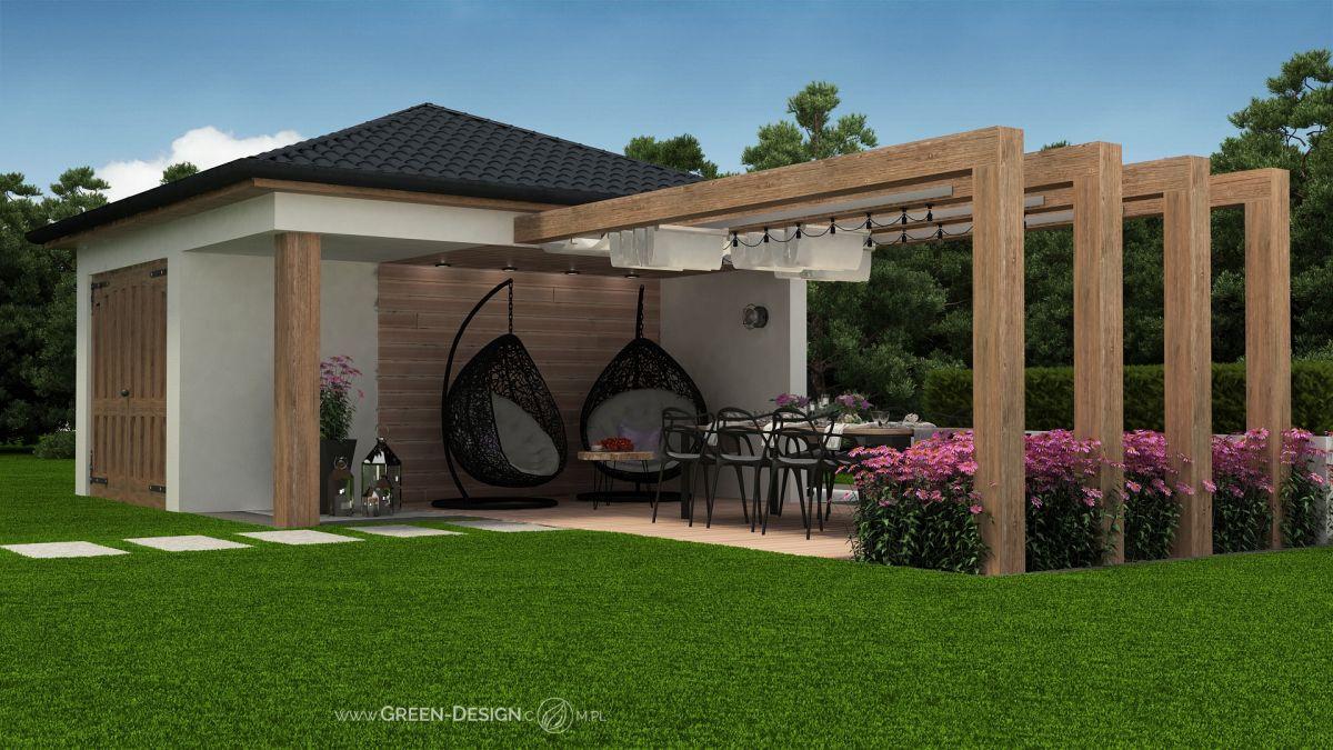Green Design Altana z jeżówkami