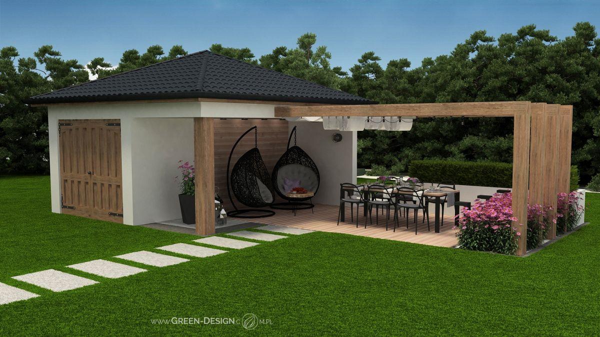 Green Design altana z jeżówkami 04